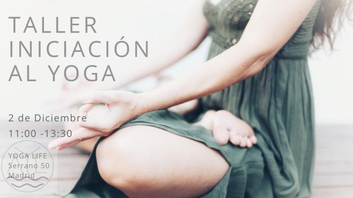 talleriniciación al yoga